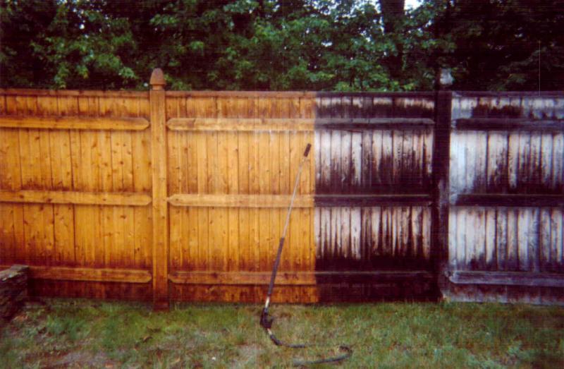 Fence Cleaning Outside Washing Fence Washing Nanaimo
